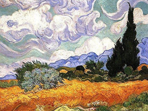 peinture,  van gogh, st-rmy, provence