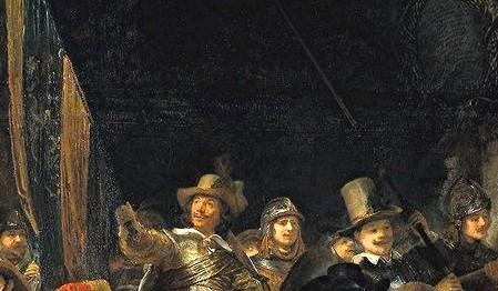 peinture,rembrandt,amsterdam,ronde de nuit
