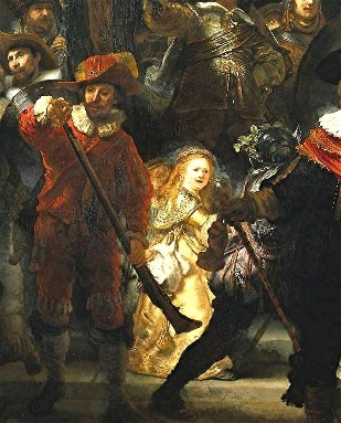peinture,rembrandt,saskia,amsterdam,ronde de nuit
