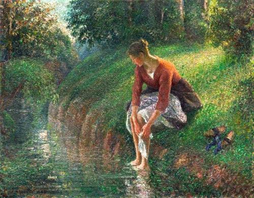 peinture, pissarro, impressionnisme,