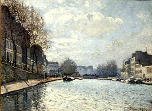 peinture,  sisley, impressionnisme, paysage