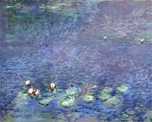 peinture, Monet, nymphéas, orangerie, litterature audio