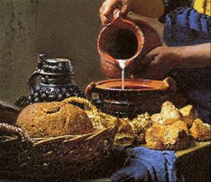 L 39 obsession vermeer 5 vue de delft si l 39 art tait - La lechera de vermeer ...