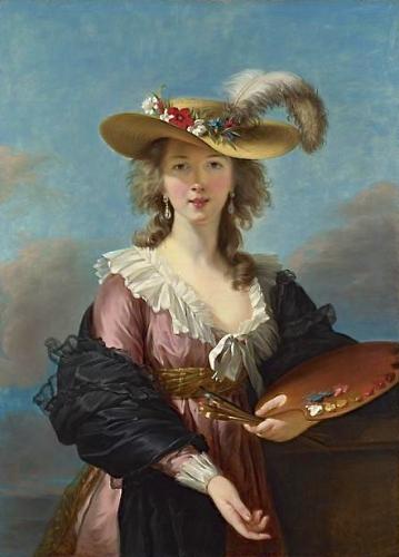 peinture,  vigée le brun, grand palais, portraits
