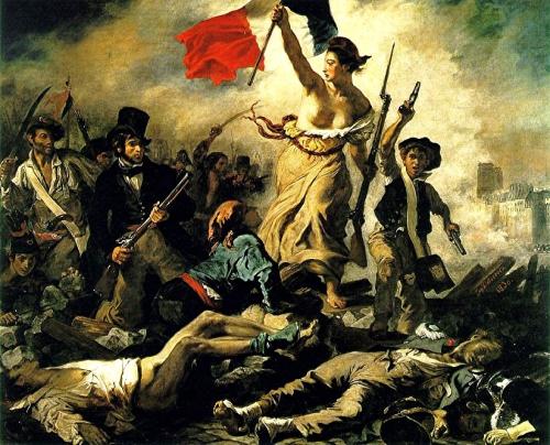 peinture, écriture, charlie hebdo, delacroix, liberté