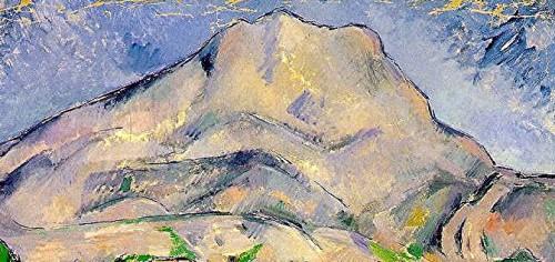peinture,écriture,cézanne,sainte-victoire,france gall,provence