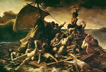 peinture,louvre,géricault,radeau