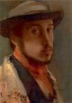peinture, écriture, degas, impressionnisme, giverny