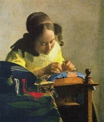 peinture,criture,vermeer,