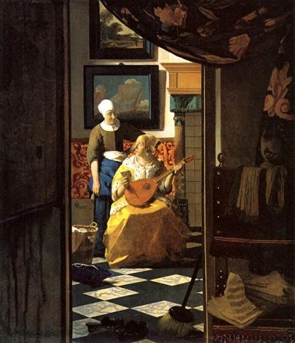 Blog De Mamate01: ARTS: La Lettre D'amour De Vermeer De Delft