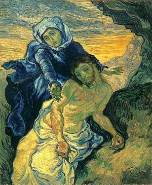 peinture,van gogh,saint-rémy,st paul moselée, delacroix