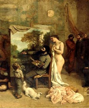peinture,courbet,ornans,atelier,orsay,réalisme