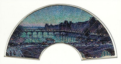luce - louvre et pont neuf nuit, ventail 1892 orsay.jpg