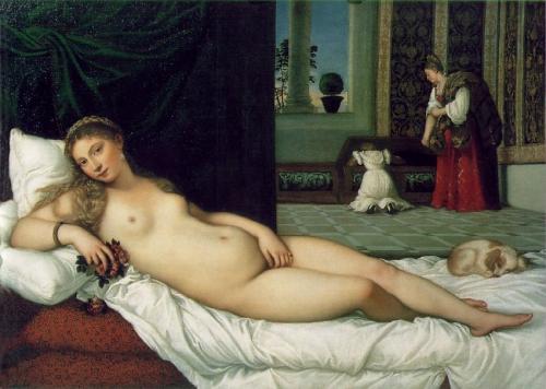 peinture,titien, vénus